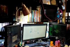Erin's desk