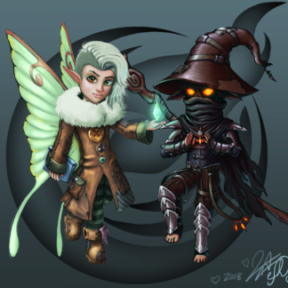 Ember and Luna preview