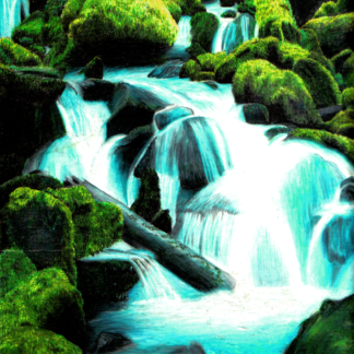 Waterfall preview
