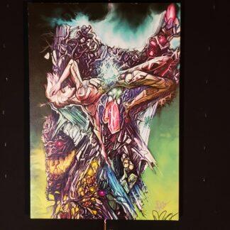 Doomsayer Canvas Print