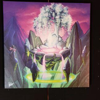 Organic 5 Canvas Print