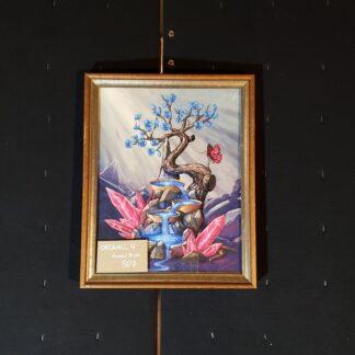 Organic 4 Framed Print