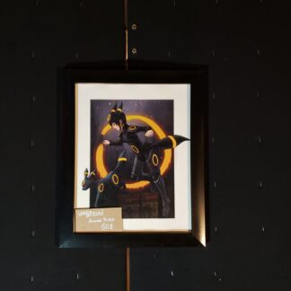 Umbreon Gijinka Framed Print