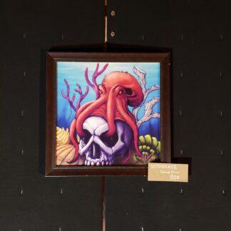 Octograve Framed Print