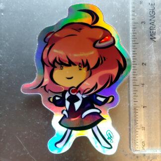 shiny MOMO sticker
