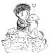 gaignun + kittens